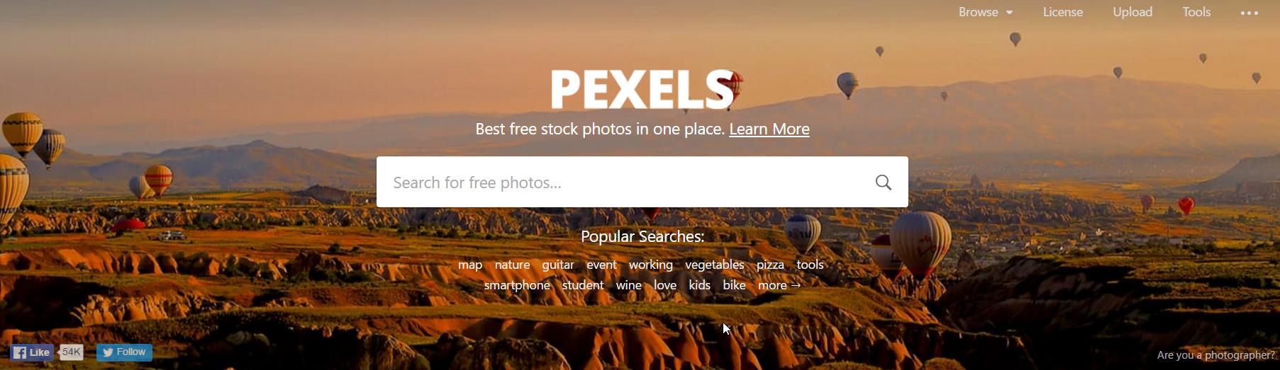 pexels banque grauite images