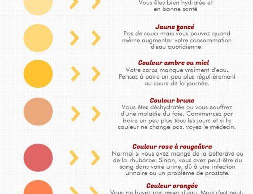 Que signifie la couleur de votre pipi ? Réponse en images
